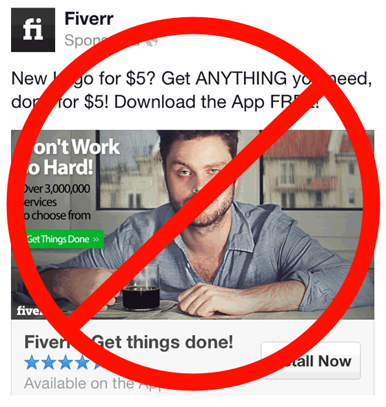 Don't use Fiverr
