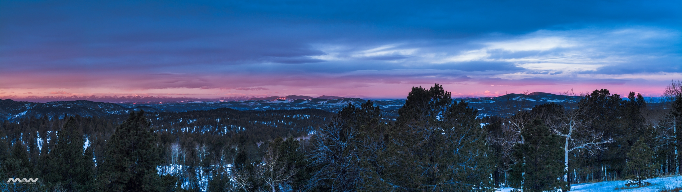 Mueller Sunrise Panorama